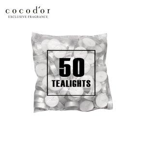 코코도르 화이트 티라이트14g 50p 캔들/제습/장마템