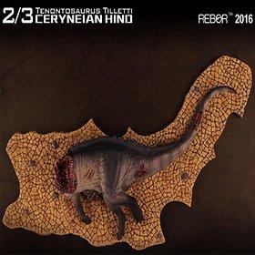 [리보] REBOR 테논토사우루스 사체 공룡 피규어