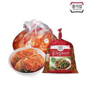 종가집 포기김치(소백)5kg+총각김치1kg