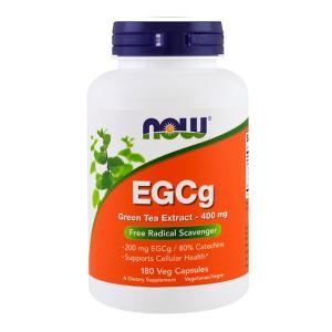 나우푸드 EGCg 녹차 추출물 400mg  180 야채캡슐