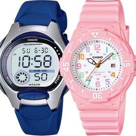 카시오 어린이 아동 남자여자학생 방수 전자손목시계