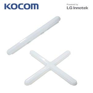 LED 플러스 일자등 십자등 30W 60W 국내생산 조명