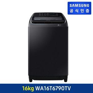 [삼성전자] [블랙케비어 16KG] 삼성 액티브워시 세탁기 블랙케비어 16kg [WA16T6790TV]