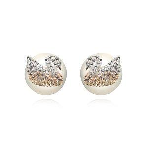 스와로브스키 5215037 Iconic Swan 스완 귀걸이