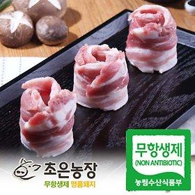 초은농장(무항생제) 명품 삼겹살/목살/갈비 500g/1kg