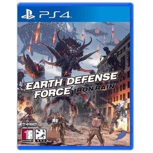 PS4 지구방위군 아이언레인 한글판 중고 당일발송