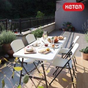 [텐바이텐] 케터 케터 폴드앤고 다용도 접이식 테이블(의자 옵션 선택)