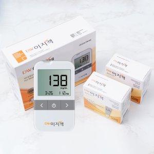 대웅 이지첵 혈당계+당뇨시험지150+채혈침110+솜100매