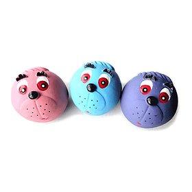 쏘아베 라텍스 삑삑이 장난감 공 (색상랜덤)