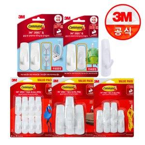 3M 코맨드 소품 가방걸이 기획팩 외 코맨드 기획팩