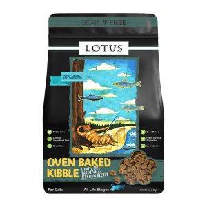 로투스 캣 오븐베이크 그레인프리 정어리와 청어 2.27kg