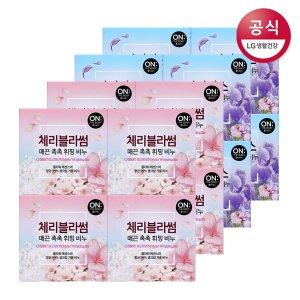 온더바디 플라워 휘핑비누 90g 4입 x4개 (향 2종)