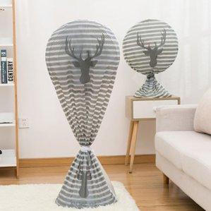 스탠드 벽걸이 대형 선풍기 덮개 보관 커버