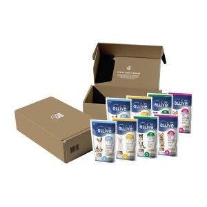 [한정판매] 올리브사료 Gift Box (사료샘플 50gx8개)