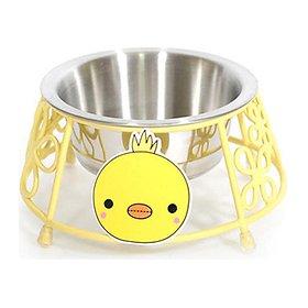 아이앤유 병아리 스텐 식탁 옐로우 싱글