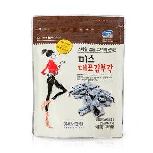[당일출고] 미스김대표 김부각 25g 1봉