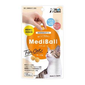 캐티맨 메디볼 고양이 치즈 15개입