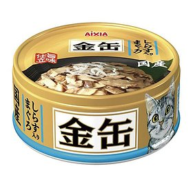 아이시아 금관 참치+치어 고양이 캔 70g