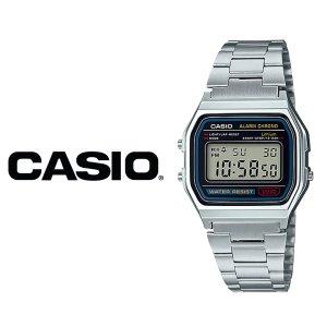 카시오 CASIO A-158WA-1 빈티지메탈 손목 커플시계