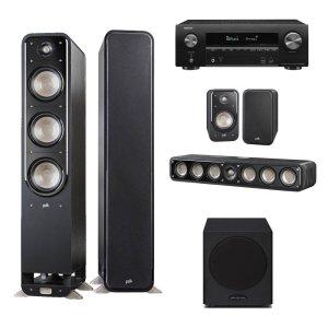 데논 AVR-X1600H + 폴크오디오 S60 5.1채널(S10)