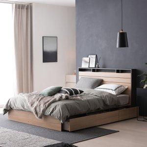 필로시 모던 멀티수납 퀸 침대(엔슬립 E7 Q)