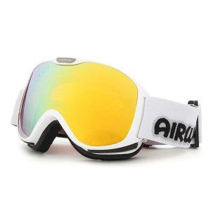[5컬러 택1] 에어워크 스키 보드 고글  AW-900 WT 안경착용가능 아동용 주니어