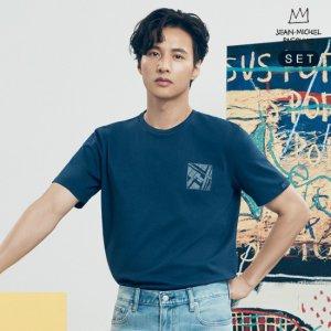 [론칭가79000]바스키아X원빈 20SS뉴욕아트컬렉션 티셔츠 남성4종