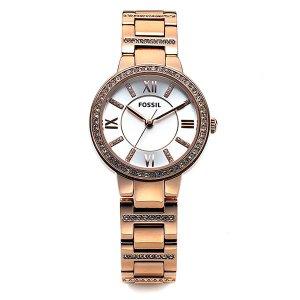 FOSSIL 파슬 ES3284 Virginia 로즈골드 여성 메탈