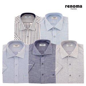 [백화점SAY][레노마셔츠][레노마셔츠] 남성 반소매 셔츠 5종 택1