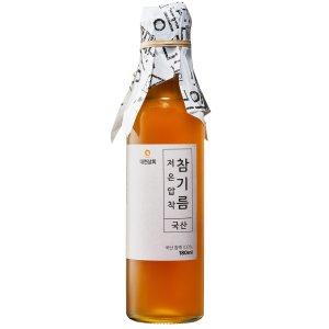 180ml 국산 참기름 들기름 생들기름/50년전통대현상회