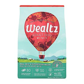 웰츠 독 어덜트 2.1kg