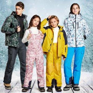 테슬라 남성 여성 아동 보드바지 스키바지 보드복 스키복 멜빵바지 자켓 스키자켓