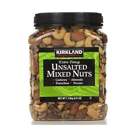 C / Kirkland unsalted mixed nuts mixed nuts Fancy /1.13kg/