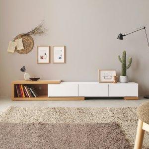 파로마 로투스2 익스텐션 거실장/tv거실장/거실수납장