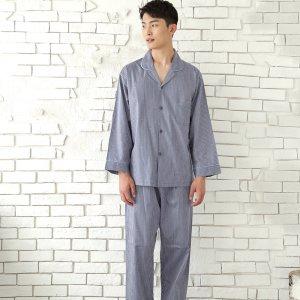 GD23916 쁘띠쁘랑 별 순면 남성 9부 잠옷 상하 세트