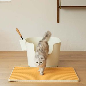 강집사 고양이매트 (고양이 모래 사막화방지매트)
