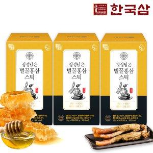 한국삼 정성담은 벌꿀홍삼스틱 실속형3박스/쇼핑백