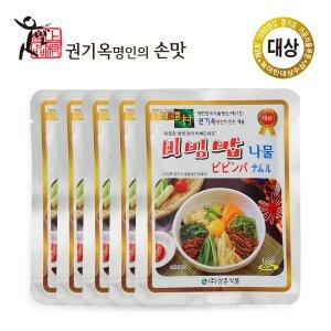 상촌식품 권기옥명인 비빔밥나물 60g 5개