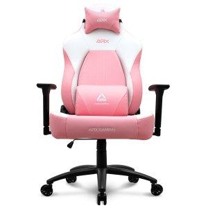 에이픽스 사무용 컴퓨터 게이밍 의자 GC005 핑크