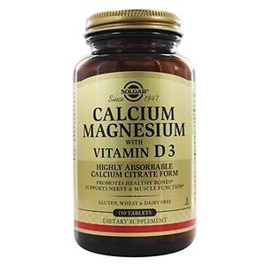 솔가 칼슘 마그네슘 비타민D3 150정