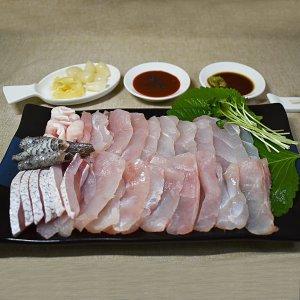 [이음수산]목포 자연산 선어 민어회 450g내외