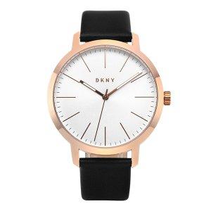 DKNY NY1600 / MODERNIST 남성용 가죽시계 44mm