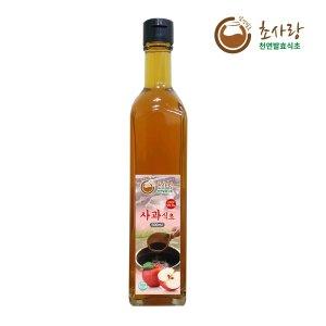 사과식초 500ml 천연발효식초 과일식초 초사랑