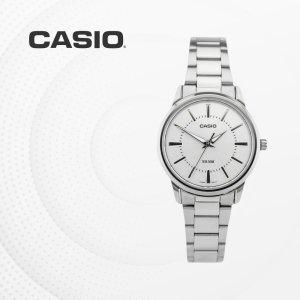 카시오 CASIO LTP-1303D-7A 메탈밴드 여성 손목시계
