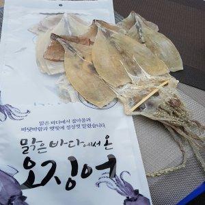 [수산쿠폰40%] 오바다 국내산 건오징어 대 400g 5 미/건조/오징어/국내산