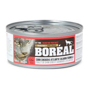 보레알 치킨&연어 캔 156g