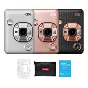인스탁스 미니 리플레이+투명케이스/액정필름+SD카드