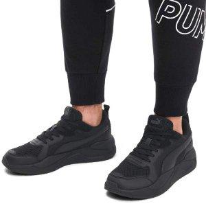 [현대백화점 판교점] [푸마 셀렉트]PUMA HPP 372602 01 X-RAY 엑스레이 올검 라이프 스타일 올블랙 러닝화 운동화