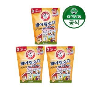 [암앤해머]베이킹소다 1.5kg+600g(식품첨가물) 3개
