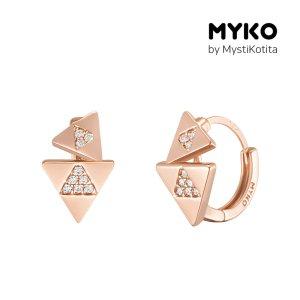 [미코주얼리] 14k 핀 트라윙 귀걸이 MK3EC22